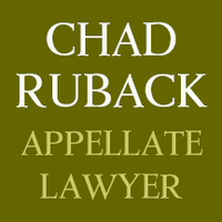 Chad Ruback, Appellate Lawyer