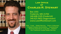 Attorney Law Office of Charles R. Stewart, LLC in Frederick MD
