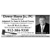 Dewey N. Hayes, Jr., PC, Attorney At Law