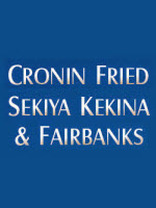 Cronin, Fried, Sekiya, Kekina & Fairbanks, Attorneys At Law